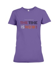20200526 The Time Is Now  Premium Fit Ladies Tee thumbnail