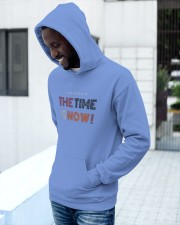 20200526 The Time Is Now  Hooded Sweatshirt apparel-hooded-sweatshirt-lifestyle-front-14