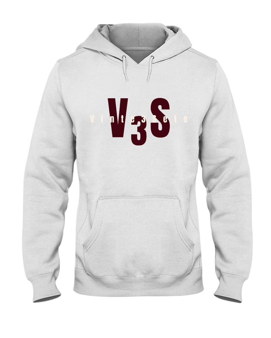 Vinte3Sete Hoodie Hooded Sweatshirt