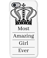 Most amazing girl Phone Case thumbnail