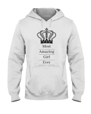 Most amazing girl Hooded Sweatshirt thumbnail