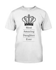 Amazing daughter Classic T-Shirt thumbnail