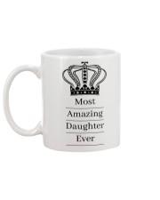 Amazing daughter Mug back