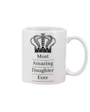 Amazing daughter Mug front