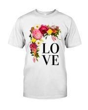 Love Flowers  Classic T-Shirt thumbnail