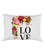 Love Flowers  Rectangular Pillowcase thumbnail
