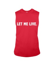 SUPER QUOTES - LET ME LIVE wh Sleeveless Tee thumbnail
