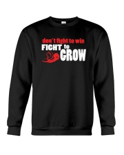 SUPER QUOTES - Fight to Grow drk Crewneck Sweatshirt thumbnail