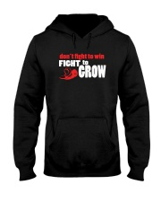 SUPER QUOTES - Fight to Grow drk Hooded Sweatshirt thumbnail
