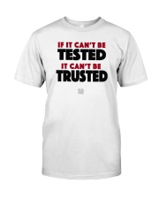 SUPER QUOTES - Can't be Trusted Premium Fit Mens Tee front