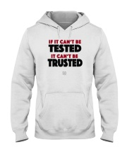 SUPER QUOTES - Can't be Trusted Hooded Sweatshirt thumbnail