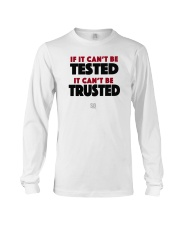 SUPER QUOTES - Can't be Trusted Long Sleeve Tee thumbnail