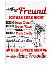 AN MEINEN FREUND - DEINE FREUNDIN 11x17 Poster thumbnail