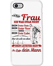 AN MEINE FRAU - DEIN MANN Phone Case thumbnail