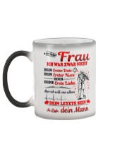 AN MEINE FRAU - DEIN MANN Color Changing Mug color-changing-left