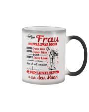 AN MEINE FRAU - DEIN MANN Color Changing Mug color-changing-right