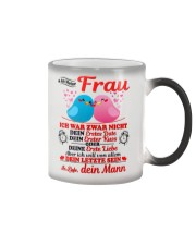 AN MEINE FRAU - DEIN MANN Color Changing Mug color-changing-right