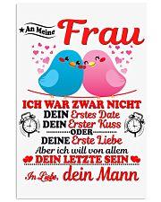 AN MEINE FRAU - DEIN MANN 11x17 Poster thumbnail