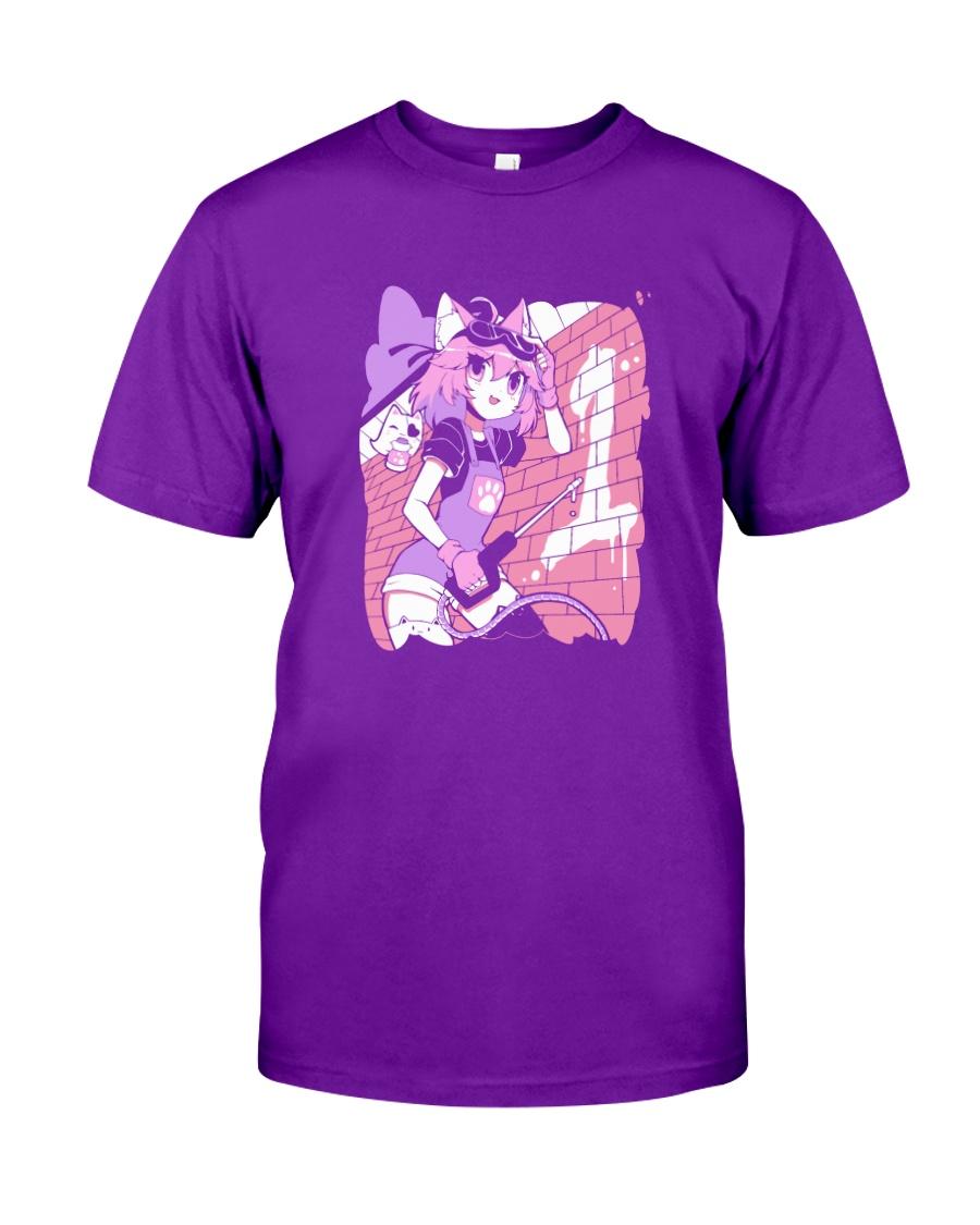 Sharkrobot Vshojo 1St Anniversary Powerwasher Nyanners Shirt