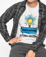 Hooyo iftinka nolsha Classic T-Shirt apparel-classic-tshirt-lifestyle-front-167