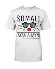 SOMALI Classic T-Shirt front