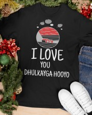 DHULKA HOOYO Classic T-Shirt apparel-classic-tshirt-lifestyle-front-82