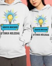 HOOYO IFTINAK NOLSHA  Hooded Sweatshirt apparel-hooded-sweatshirt-lifestyle-front-138