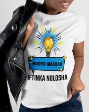 Hooyo Iftinka Nolasha Ladies T-Shirt apparel-ladies-t-shirt-lifestyle-front-31