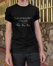 Joey Speaks French  Classic T-Shirt apparel-classic-tshirt-lifestyle-21