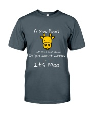 THE MOO POINT T-SHIRT Classic T-Shirt thumbnail