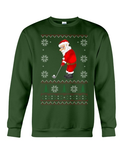 GOLF- Ugly Sweater For Christmas-SANTA CLAUS