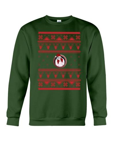 BOXER SANTA - Ugly Sweater For Christmas