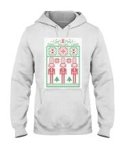 UGLY SWEATER CHRISTMAS PARTY - XMAS Ugly Sweater Hooded Sweatshirt thumbnail