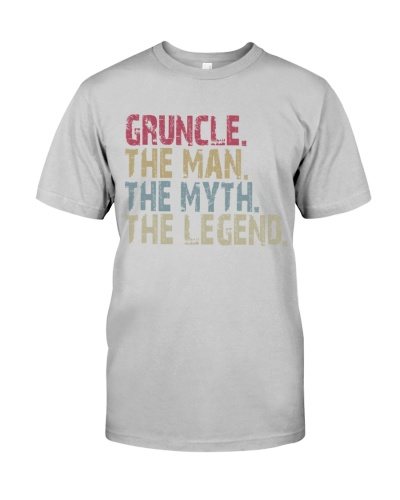 Gruncle - The Man The Myth The Legend
