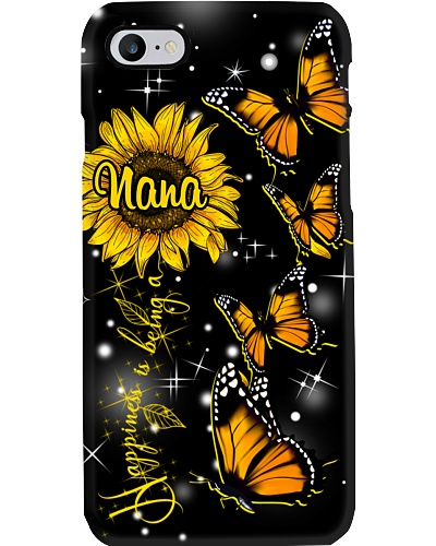 Phonecase - Happiness is being a Nana