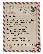 To our Son - Love  Mom and Dad  - v1 Comforter - Twin XL thumbnail