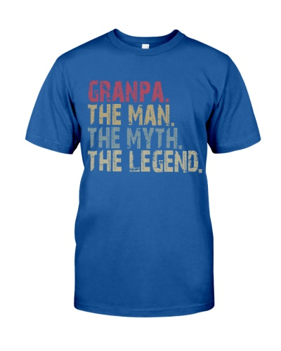 Granpa - The Man The Myth The Legend