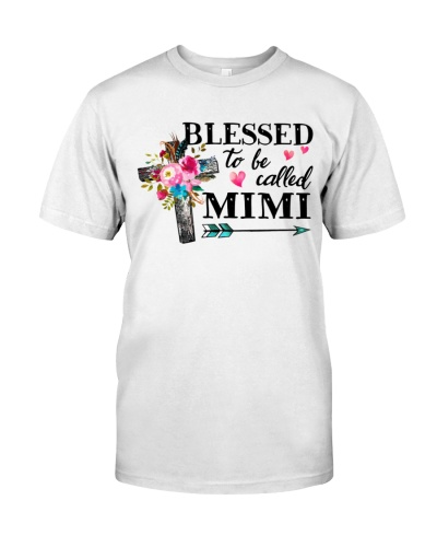 Blessed to be called MIMI - Cross Flower