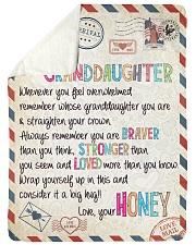 Love Honey - GD v2BL Sherpa Fleece Blanket tile