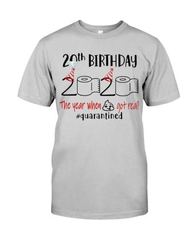 20th Birthday 2000 - Toilet Paper Quarantined