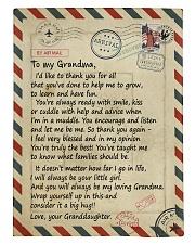 To my Grandma - Granddaughter Loving Letter Comforter tile