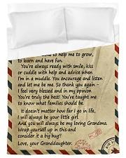 To my Grandma - Granddaughter Loving Letter Duvet Cover - Twin XL thumbnail