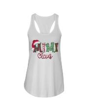 Mimi Claus Christmas Art Ladies Flowy Tank thumbnail