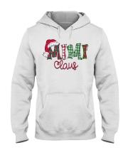 Mimi Claus Christmas Art Hooded Sweatshirt thumbnail