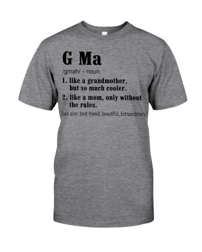 G Ma - Definition