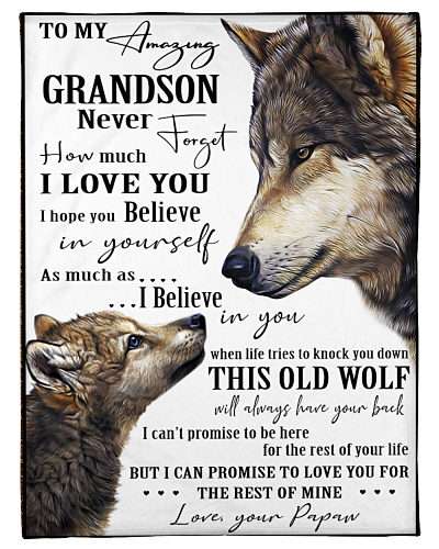 Grandson - Papaw - Wolf Edition