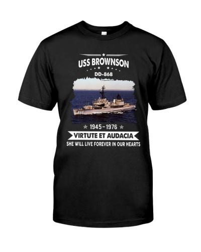 USS Brownson DD868