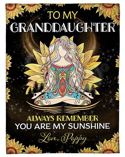 To my Granddaughter - Poppy