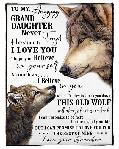 Granddaughter - Grandma - Wolf Edition
