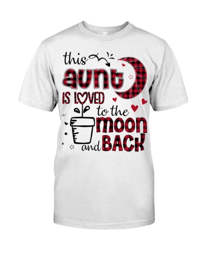 This Aunt is loved - cute Design